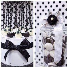 Black and White Birthday Party Ideas | Photo 1 of 12