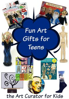 the Art Curator for Kids - Fun Art Gifts for Teens who Love Art, Holiday Gift Guide