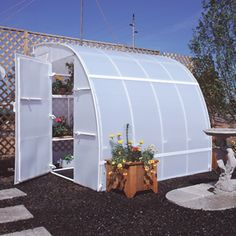 diy pvc pipe lean to greenhouse - Google Search