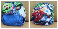 Toddle bottoms hybrid, marvel Spider-Man
