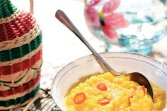 Pittige pompoendip met curry - Recept - Allerhande