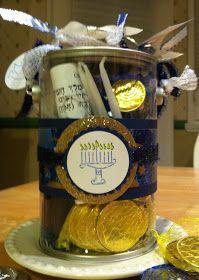Hanukkah Gifts - Hanukkah in a Jar