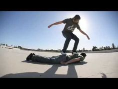 Stop Motion Human Skateboard (HD Remastered) | TwistedSifter