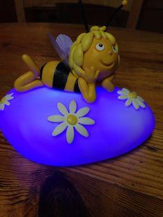 Veilleuse Maya l abeille en porcelaine froide