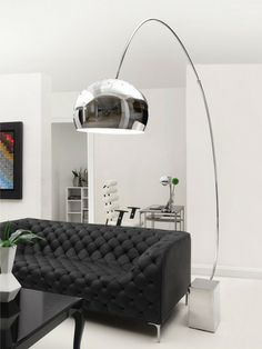Gravity Floor Lamp by Zuo at Gilt