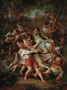 François Louis Lanfant de Metz (1814 – 1892) – Pintor Francês_2