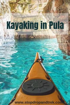 Kayaking in Blue Cave at Pula Istria Croatia Travel Honeymoon Backpack Backpacking Vacation Dubrovnik, Rovinj Croatia, Makarska Croatia, Places To Travel, Places To See, Travel Destinations, Croatia Destinations, Croatia Tours, Travel Local