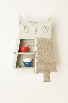 Owl Perch Cabinet #anthropologie