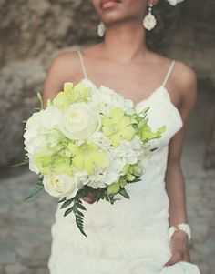 Another fab bouquet! Love the flowers, but wanting more vibrant tropical colours