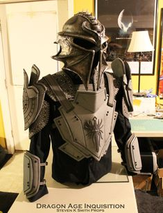 Dragon Age Inquisition WIP Inquisitor Armor 3 by Captainhask on deviantART