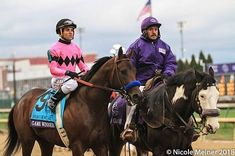 """Tate Adam on Instagram: """"Your Eclipse award 2 yr. are Jaywalk and Game Winner! Happy Pegasus World Cup day! PC: @jcthphotography"""" Preakness Winner, Pegasus, Kentucky Derby, Horse Racing, World Cup, Riding Helmets, Horses, Game, Happy"""