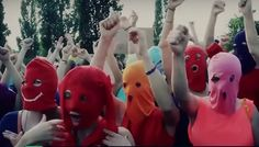 Pussy Riot – Immersive Political 'Inside Pussy Riot' Co-produced by Les Enfants TerriblesWithGuitars
