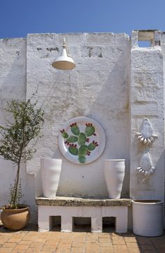 In Conversation with Ceramists Giovanna Alò and Enza Fasano on Perfect Local Day by UNCOVR Travel Garden Design, House Design, House By The Sea, Outdoor Living, Outdoor Decor, Mediterranean Style, Interior And Exterior, Outdoor Gardens, Christmas Diy