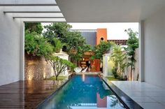 Cool modern residence located in Mexico