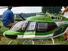 RC-Modellbau Huge Scale Jet Ranger Bell 206-B3 Turbine Model R/C Helicopter - YouTube