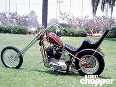 From the Street Chopper Archives / Custom Harley Sportster