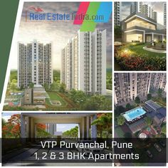 Now You Can Buy 1, 2 & #3BHKApartments in Pune, Maharashtra at VTP Purvanchal - #RealEstateIndia Buy Now : https://www.realestateindia.com/projects/vtp-purvanchal-pune/
