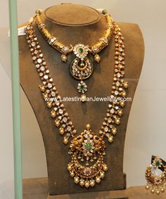Jewellery Designs: Nizami Collection from Hiya jewels Indian Jewellery Design, Jewelry Design, Handmade Jewellery, Latest Jewellery, Designer Jewelry, India Jewelry, Gold Jewelry, Diamond Jewellery, Jewellery Earrings