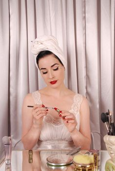 Dita Von Teese on Makeup, Waist Training, and What She Really Wears Around the House