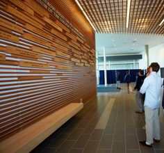 Donor Recognition and Environmental Graphic design program for Middlebury College's Peterson Athletic Complex.