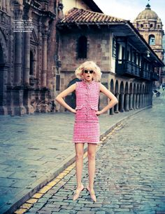 visual optimism; fashion editorials, shows, campaigns & more!: cool as cusco: josefien rodermans by ruven afanador for tatler april 2014