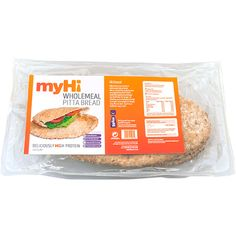 myHi High Protein Wholemeal Pitta Breads
