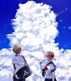 Sougo Okita x Kagura [OkiKagu], Gintama Manga Couple, Anime Love Couple, Cute Anime Couples, Okikagu Doujinshi, Manga Anime, Anime Art, Gintama Wallpaper, Anime Life, Anime Scenery