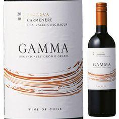 Gamma Organic Carmenere Reserva 2012 V.E.S.A