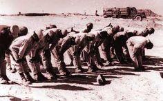 October war Yom Kippur war حرب اكتوبر Egyptian soldiers praying