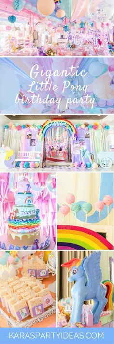46 best My Little Pony Party Ideas on Kara s Party Ideas