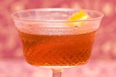 Guyana Manhattan - a variation on the classic, with rum!