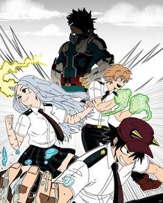 My Hero Academia Tsuyu, My Hero Academia Memes, Buko No Hero Academia, Hero Academia Characters, My Hero Academia Manga, Horror Movie Characters, Anime Characters, Cute Anime Boy, Anime Love