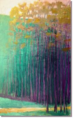 One of my favorite contemporary painters is Wolf Kahn. Through his landscapes he walks, or I guess paints, the line between abstraction and ...