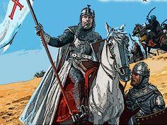 El Cantar de mio Cid, como ya hemos avanzado, se basa libremente en la parte final de la vida de Rodrigo Díaz de Vivar, desde que inicia el primer destierro en 1081 hasta su muerte en 1099.
