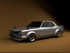Classic 1972 Nissan Skyline [1024 X 768] - Imgur