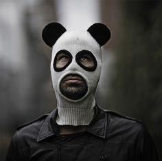Pandito Panda Mask: Look Like an Adorable Creeper or just a creeper.