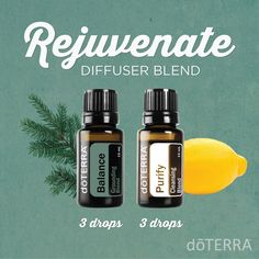 A perfect blend for the new year--balancing, cleansing, rejuvenating.