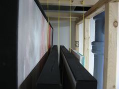 [Forum on how to build a Rack for Canvases] I'm Building a painting storage rack - WetCanvas