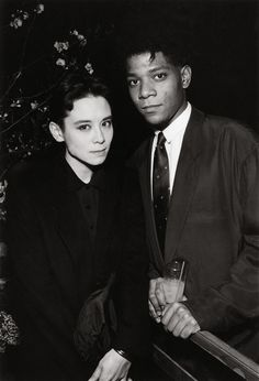 Tina Chow and Jean-Michel Basquiat