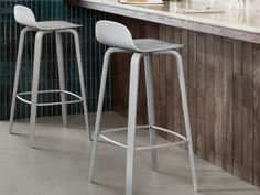 Muuto Visu Bar Stool - possibility for bar stool - but might be a bit too much grey