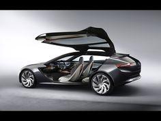 2013 Opel Monza Concept #windscreen