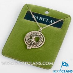 Barclay Clan Crest P