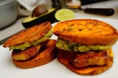 Chicken Guacamole Sliders Recipe from 10 Amazing Chicken and Avocado Recipes (Slideshow)