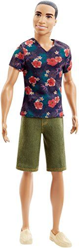 Barbie Fashionistas Ken Doll, Floral Tee *** You can find out more details at the link of the image.