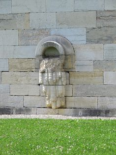 Porche d'entrée - Saline royale (1774-1779) d'Arc-et-Senans (25)