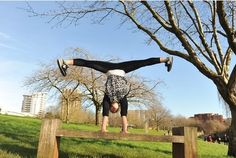 NO longer confined to the playground, handstand and hand-balancing is the latest fitness craze sweeping Bristol, Esme Ashcroft reports.    FOR many, handstands bring back painful memories of...