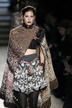 Missoni AW10 Milan Fashion week RTW source WGSN