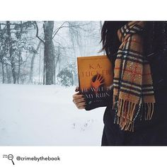 Repost from @crimebythebook - Snow day plans  I woke up today to a winter wonderland!!  I've got a pile of books to keep me warm during #blizzard2016 and I'm starting with K. A. Tucker's HE WILL BE MY RUIN  east coast friends: how are you spending this snowy weekend?!    I've heard amazing things about this gorgeous thriller and I'm so excited to check it out!!! A huge thanks to @atriabooks for the copy  if you've read this beauty what did you think of it?!?   I'm also happy to report that I…