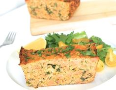 Salmon Loaf filled with quality protein + healthy fats + lots of veggies | Grain Free | Dairy Free