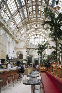 brasserie, palmenhaus, vienna, austria